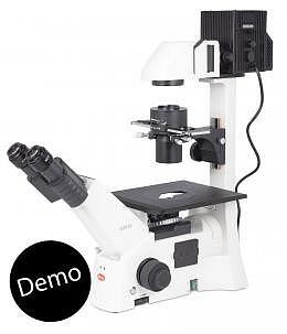 Invers-Routine Mikroskop, Motic AE-31E Binokular / 100W